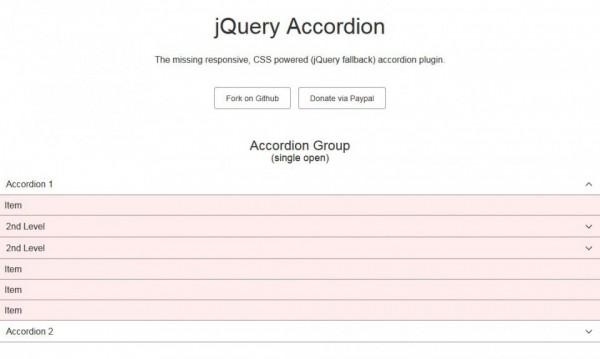 jQuery Accordion