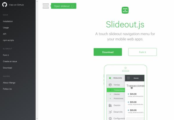 Slideout.js